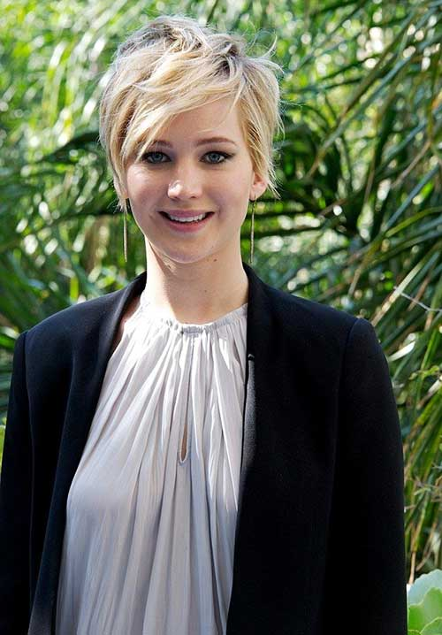 Jennifer Lawrence Hairstyles for 2014-2015