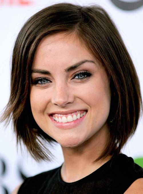 Jessica Stroup Short Medium Hair