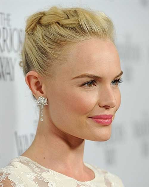Kate Bosworth Cute Updo Hair