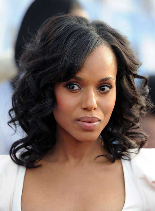 Kerry Washington Curly Hair