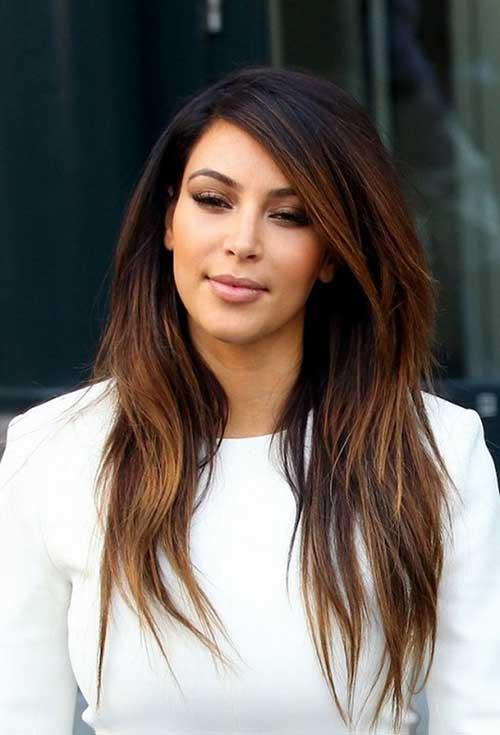 Kim Kardashian Hairstyles for Summer