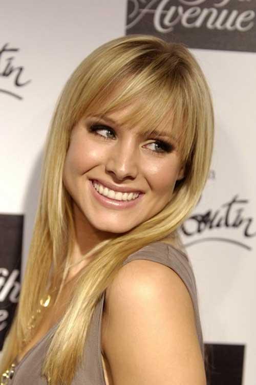 Kristen Bell Cute Hair