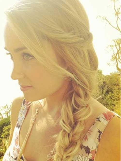 Lauren Conrad Side Braid Hair