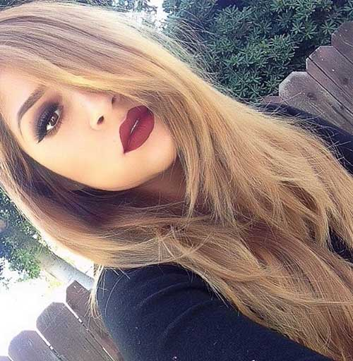Layered Blonde Hair Color for Girls