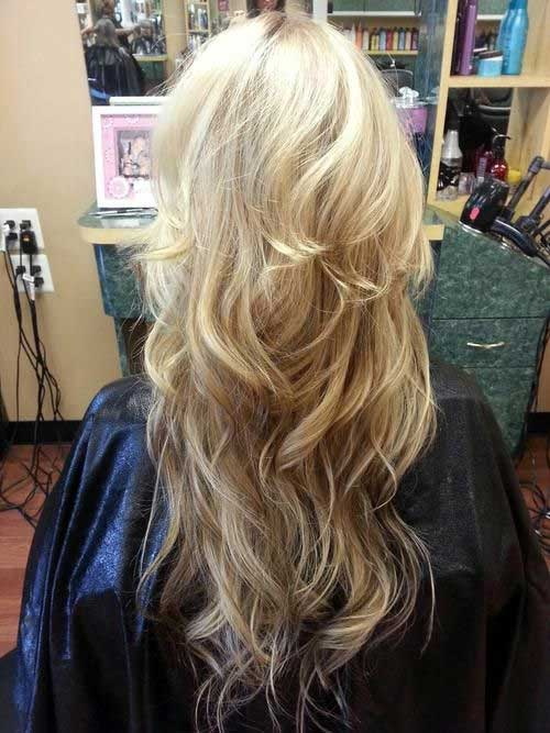 Long Blonde Hair Cuts Ideas