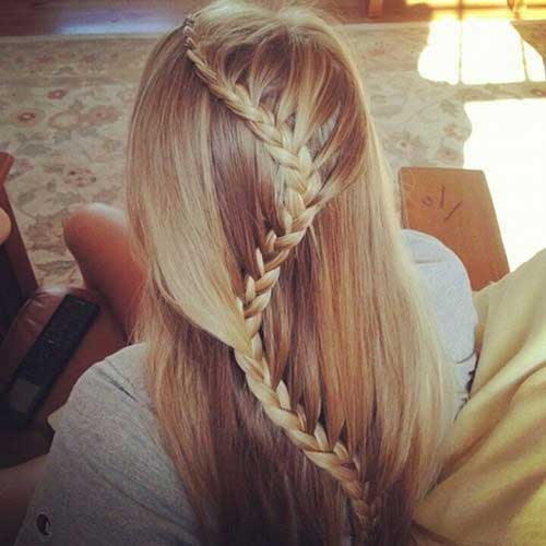 Long Hair Braid Styles for Girls