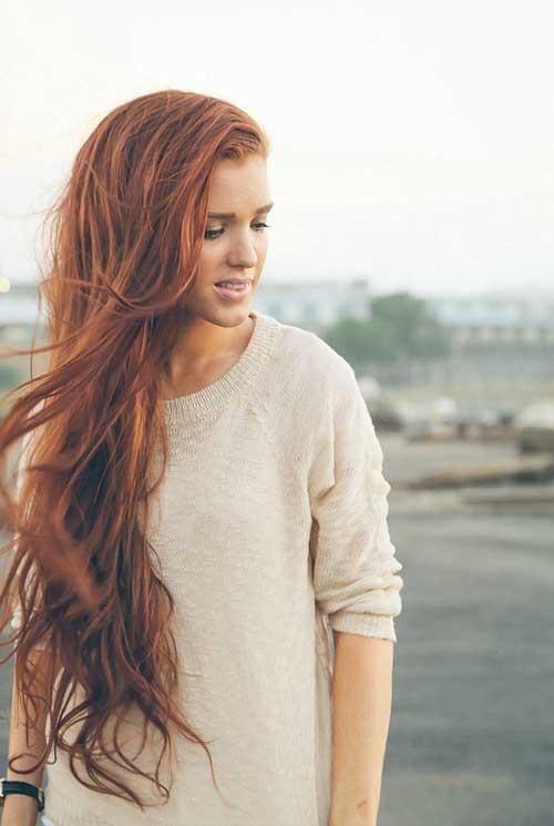 Long Wavy Hair Summer Styles