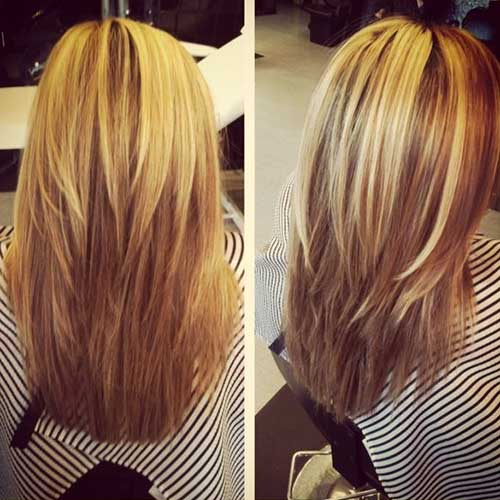 Cute Long Layered Hairstyle