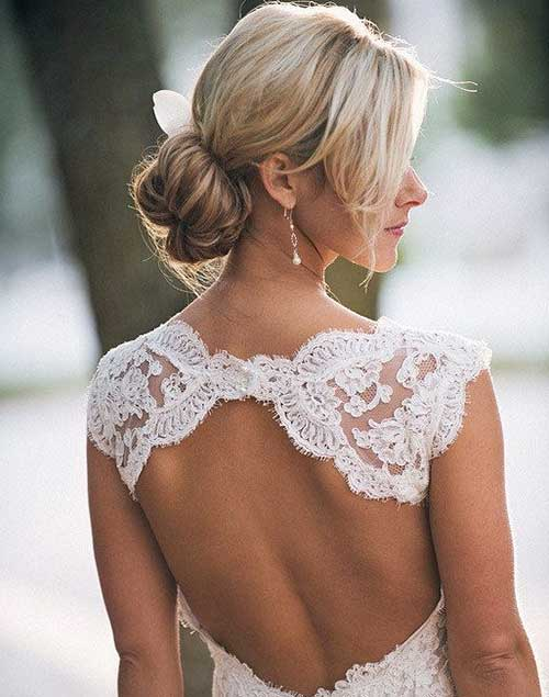 Low Updos for Wedding Hair