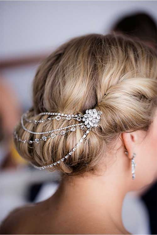 Beautiful Magnificient Bridal Hair Pieces