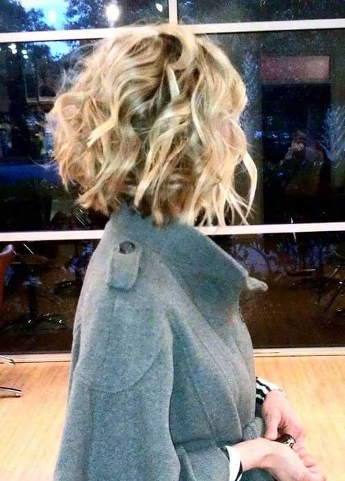 Medium Length Bob Haircuts for Curly Hair