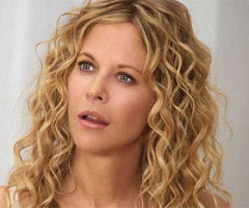 Meg Ryan Curly Hairstyle