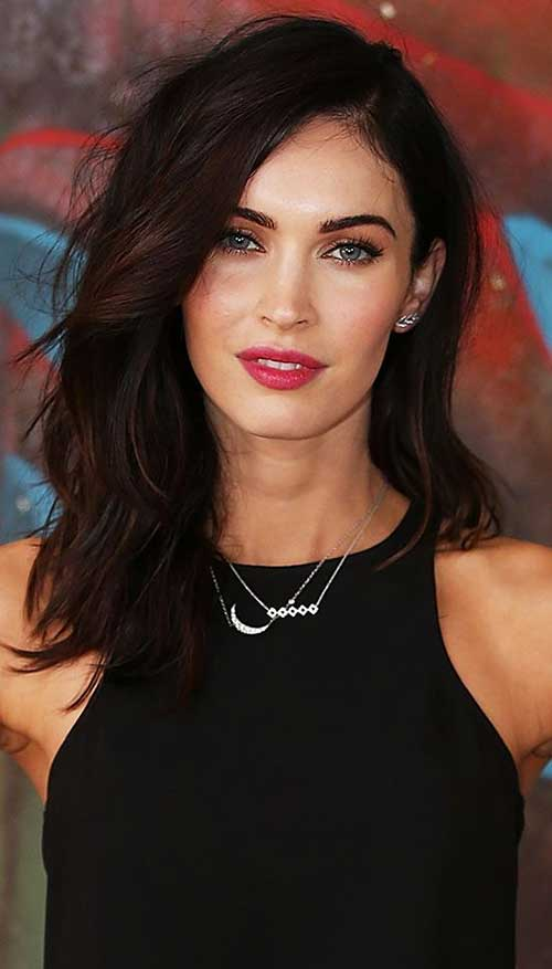 Megan Fox's Medium Hair