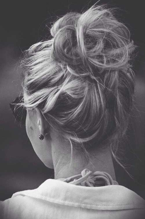 Best Messy Buns for Long Hair