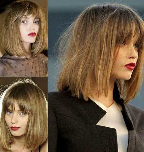 Messy Long Bob Hairstyles