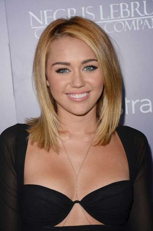 Miley Cyrus Medium Hair