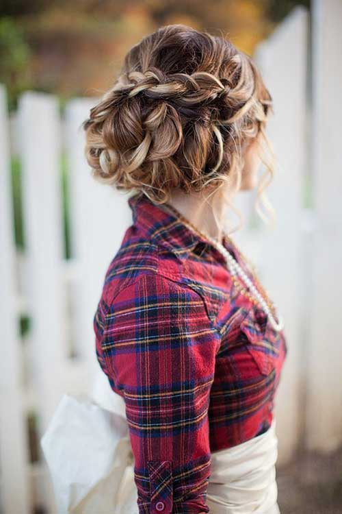 Nice Braids for Wedding Styles