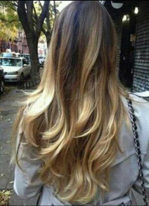 Perfect Ombre and Layered Cut