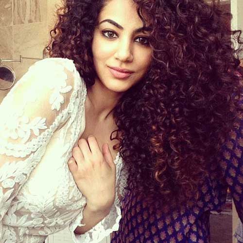 Voluminous Perms for Curly Hair