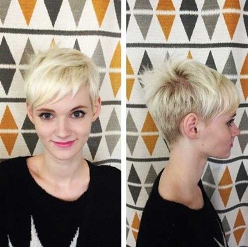 Short Pixie Hair 2015