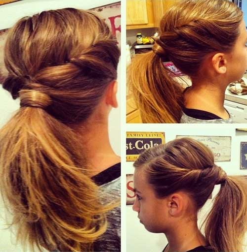 Ponytail Ideas for Summer 2015