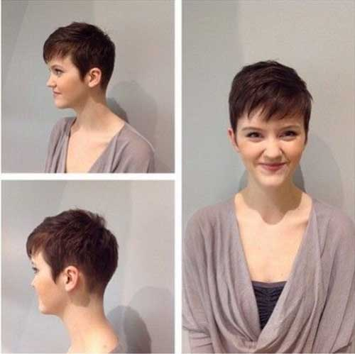 Pretty Short Pixie Haircuts for Women