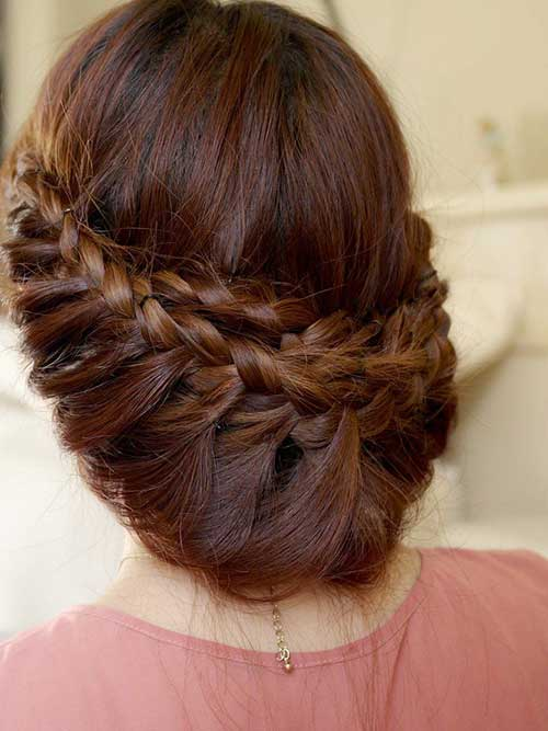 Cute Princess Braided Updo
