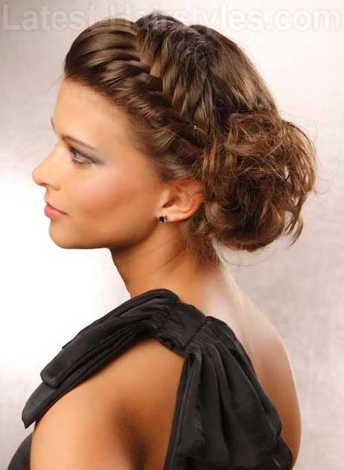 Cool Updo Roman Goddess Hairstyles