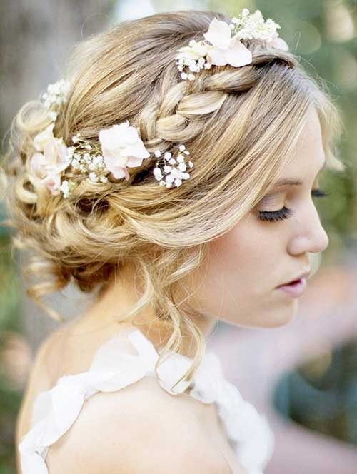 Nice Braided Rustic Wedding Hairstyles