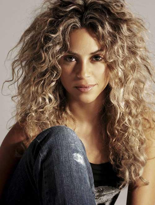 Best Shakira Curly Hair