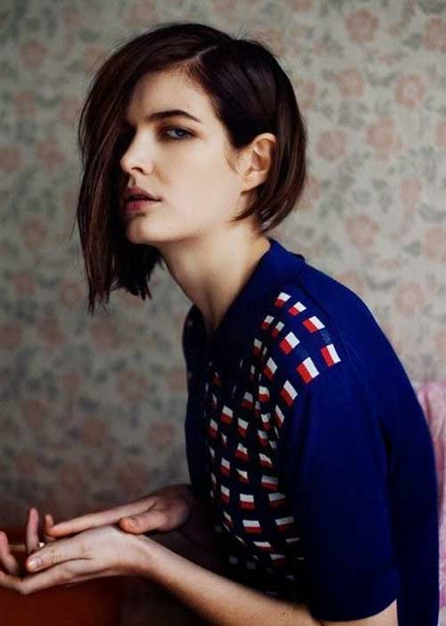 Long Asymmetrical Short And Medium Hairstyles