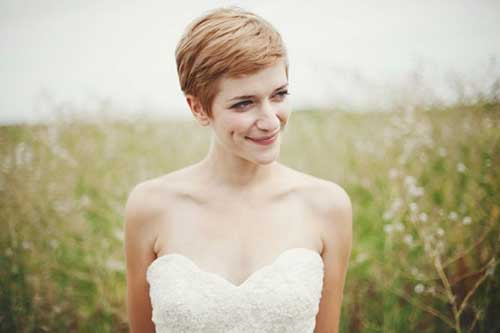 New Short Bridal Hairstyles