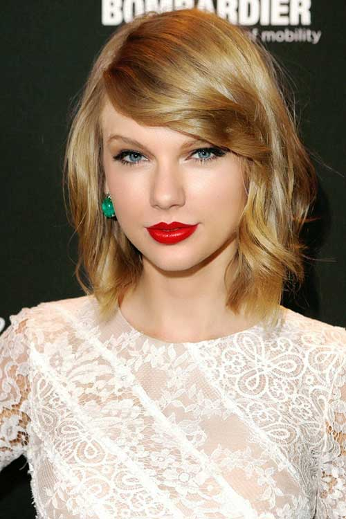 Taylor Swift Short Medium Hair Cuts