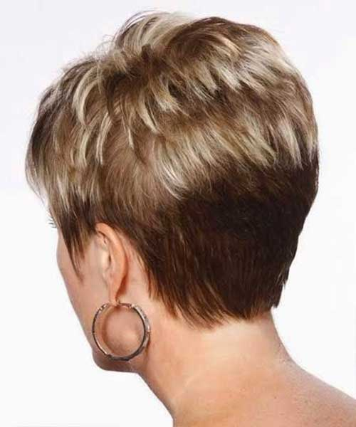 Short Pixie Cut Hairstyles for Older Women