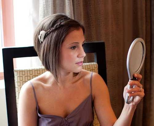 Short Wedding Braided Hair