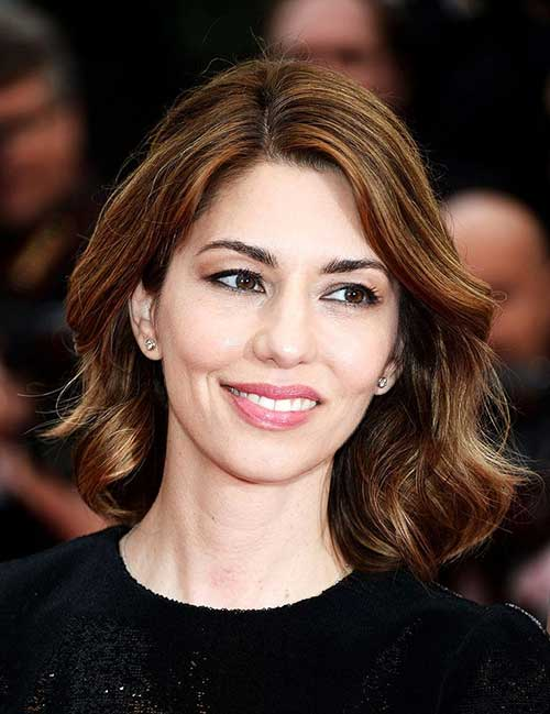 Sofia Coppola Hairstyle 2014-2015
