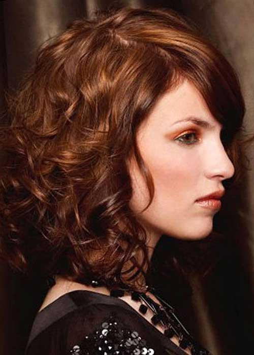 Trendy Medium Length Curly Hairstyles