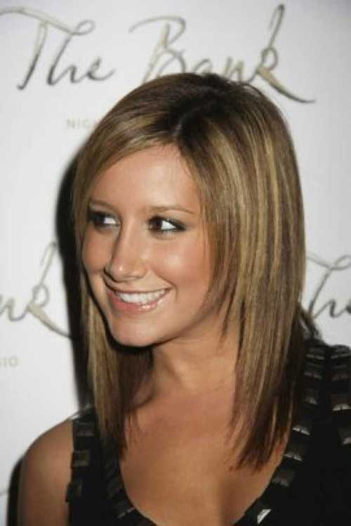 Thin Trendy Medium Length Hair