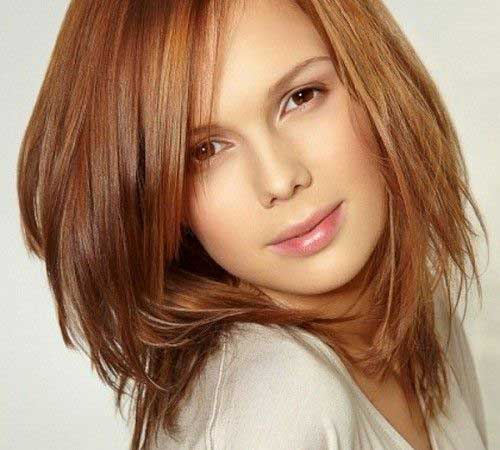 haircut styles for mid length hair haircuts for medium thick hair hairstyles amp haircuts 5638