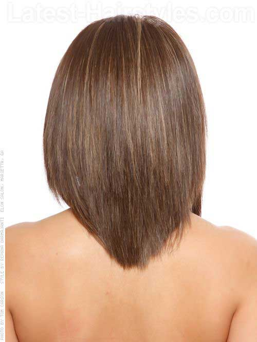 V Shaped Haircut for Medium Hair