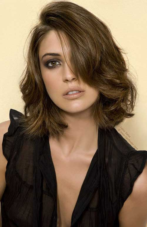2016 New Hair Style Bob Wave Human Hair Wigs With Side