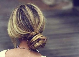 Simple Wedding Buns Hairstyles