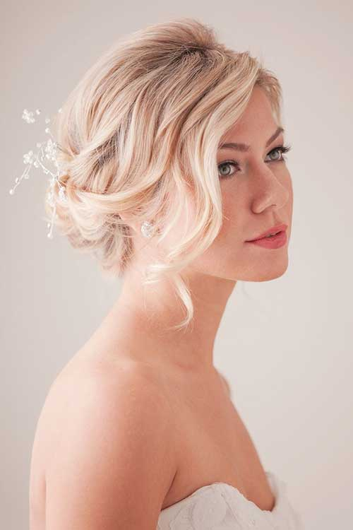 Beautiful Wedding Hair Pin Ups