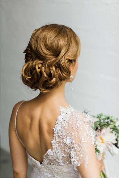 Wedding Hair Style Back Details Image