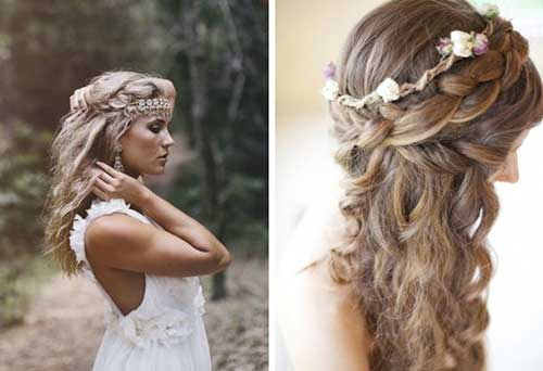 Wedding Long Braids Hair Styles