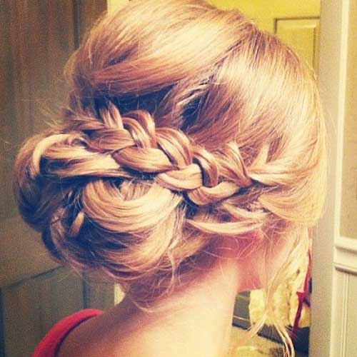 Wedding Hairstyles Long Hair Updos Braided