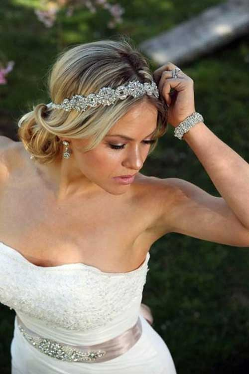 New Beautiful Wedding Hairstyles with Headband