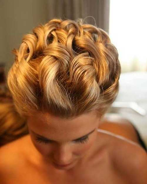 Updo Wedding Short Hairstyles