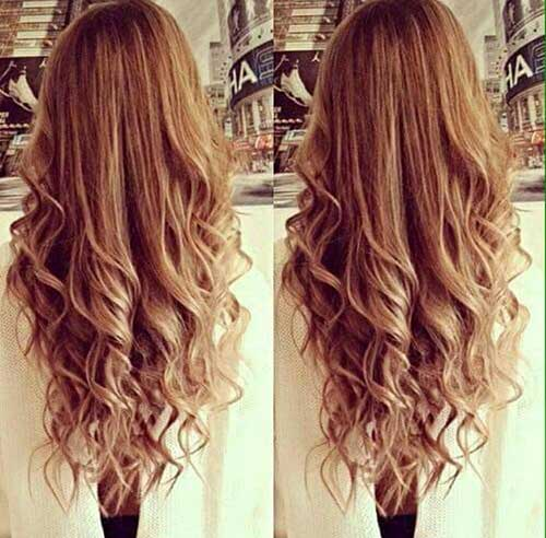 Curly Layered Hairstyles-17