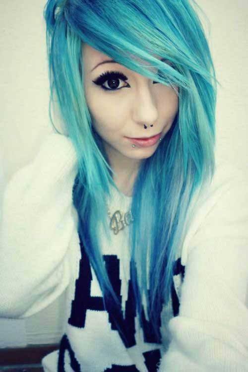 20 Long Emo Haircuts Hairstyles And Haircuts Lovely